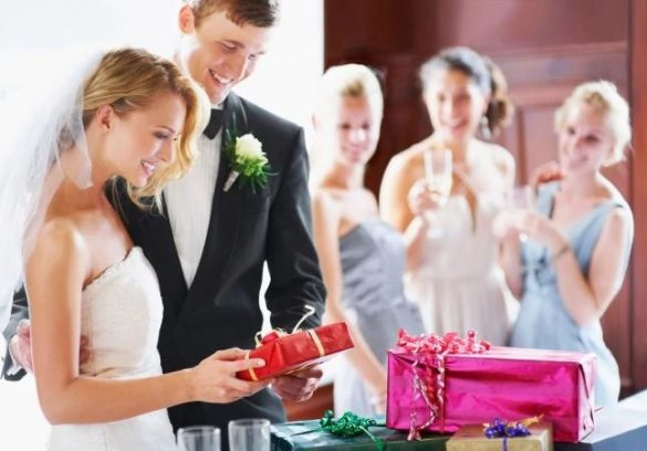 Wedding Rules For Giving Gifts